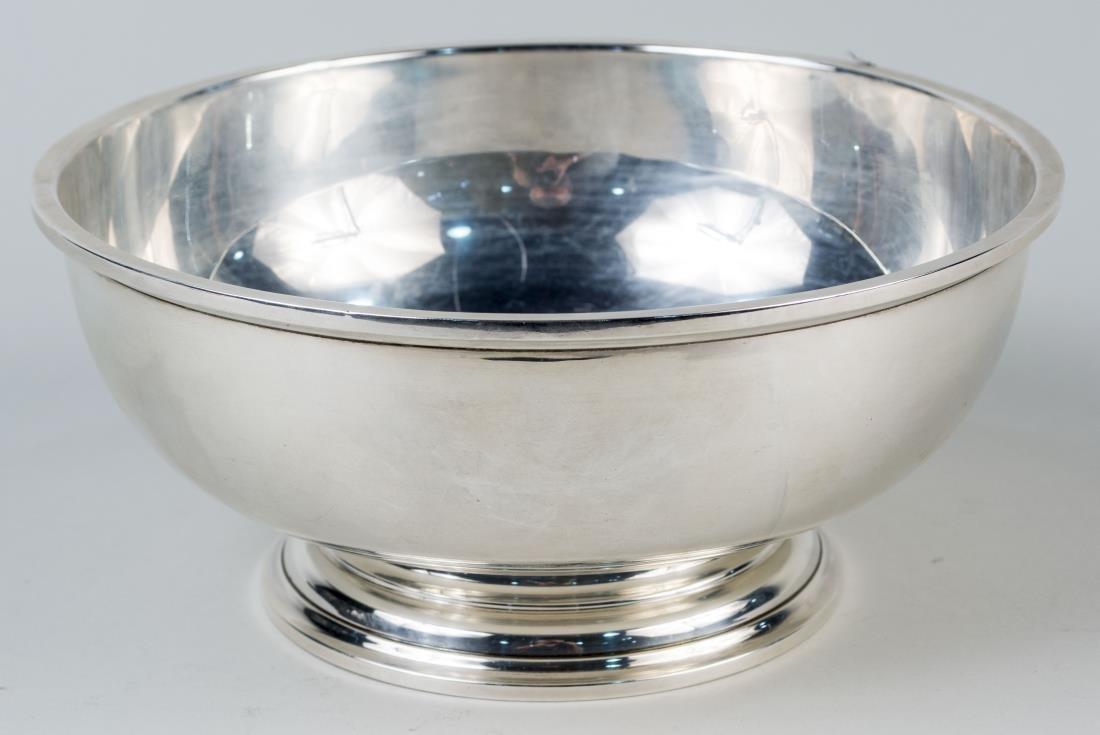 Birks Sterling Silver Pedestal Bowl