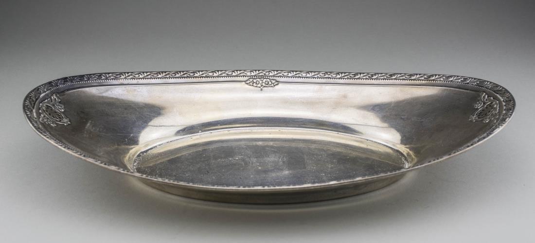 American Sterling Silver Bread Tray