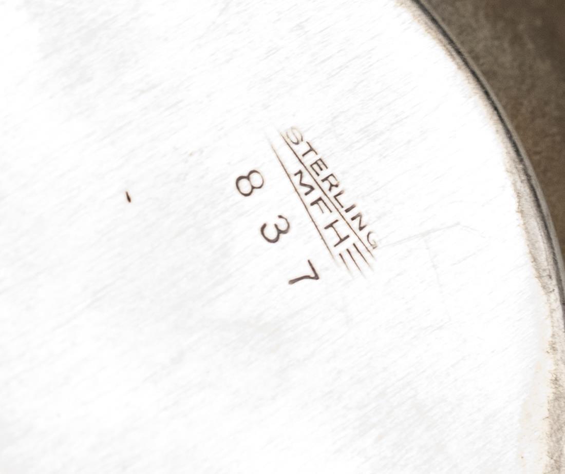 American Sterling Silver Bread Tray - 3