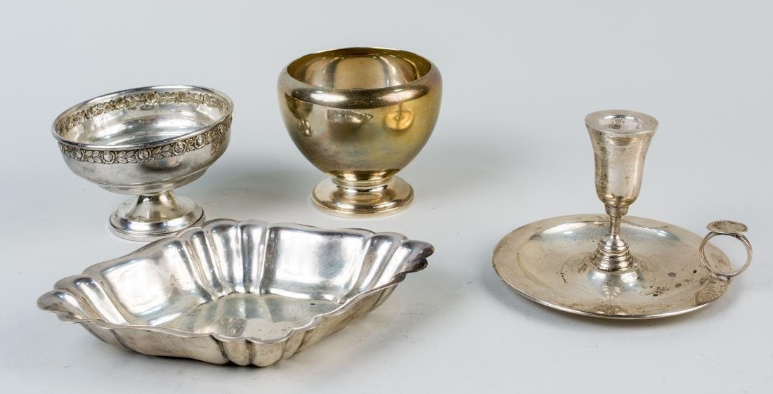 Four Sterling Silver Articles