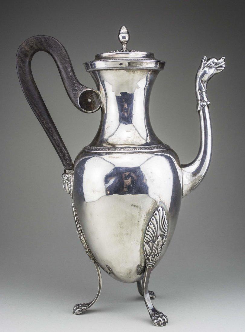 Continental Silver Coffee Pot