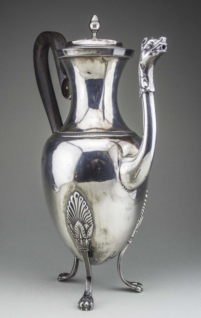 Continental Silver Coffee Pot - 2