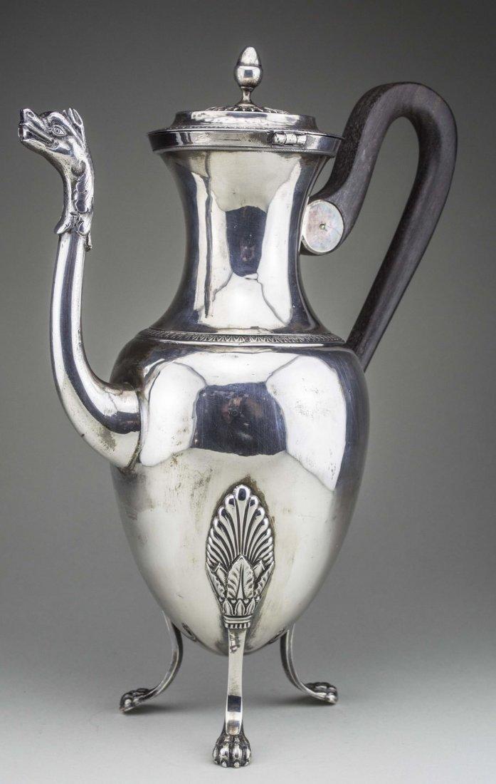 Continental Silver Coffee Pot - 3