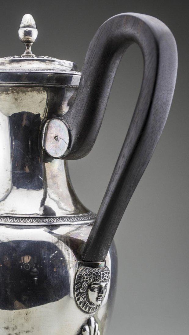 Continental Silver Coffee Pot - 4