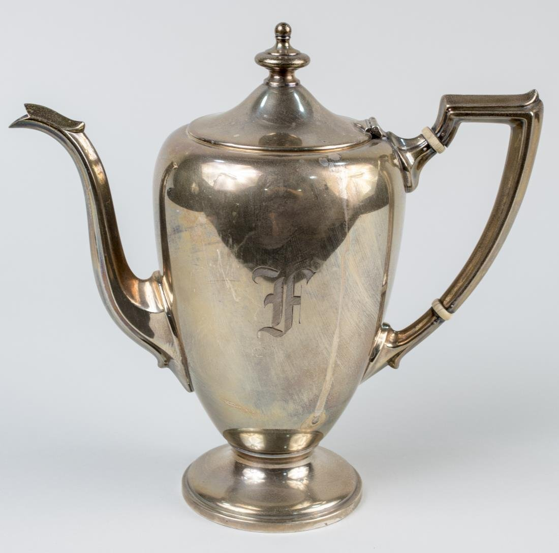 Fisher Sterling Silver Teapot
