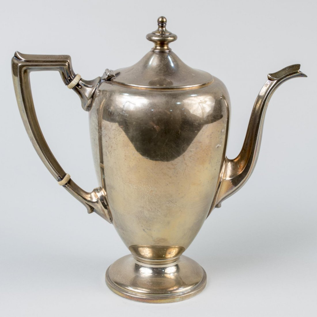 Fisher Sterling Silver Teapot - 2