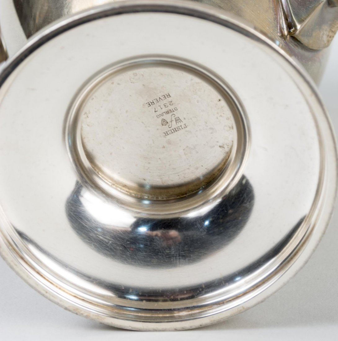 Fisher Sterling Silver Teapot - 3