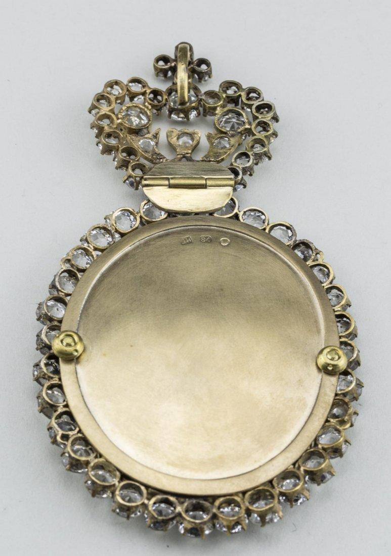 Russian Gilt Silver Panagia of John the Baptist - 4