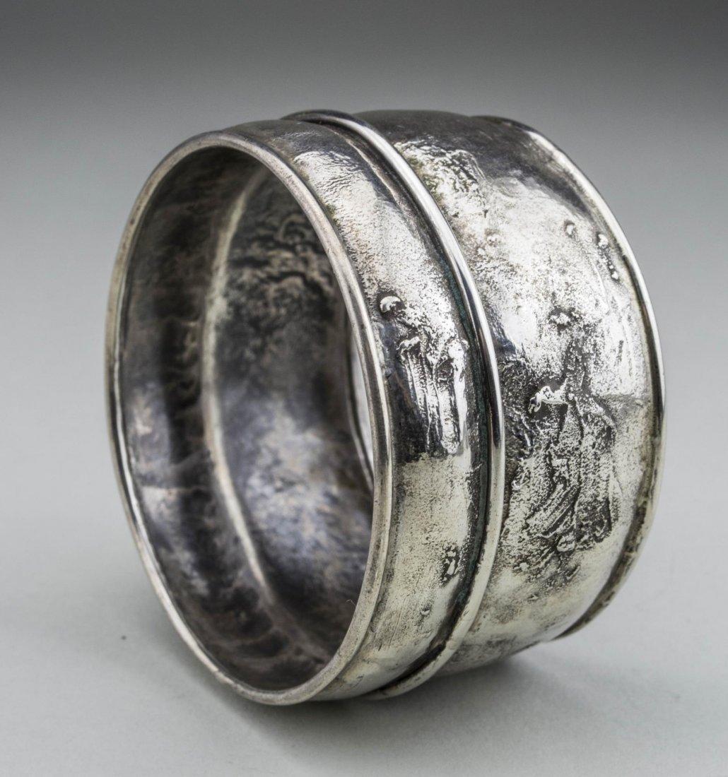 Grannis Sterling Silver Bangle