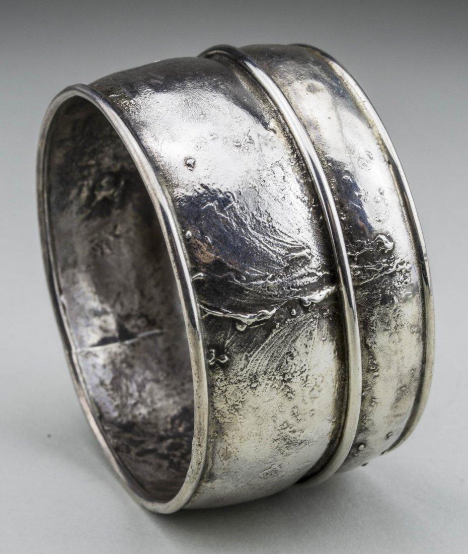 Grannis Sterling Silver Bangle - 2