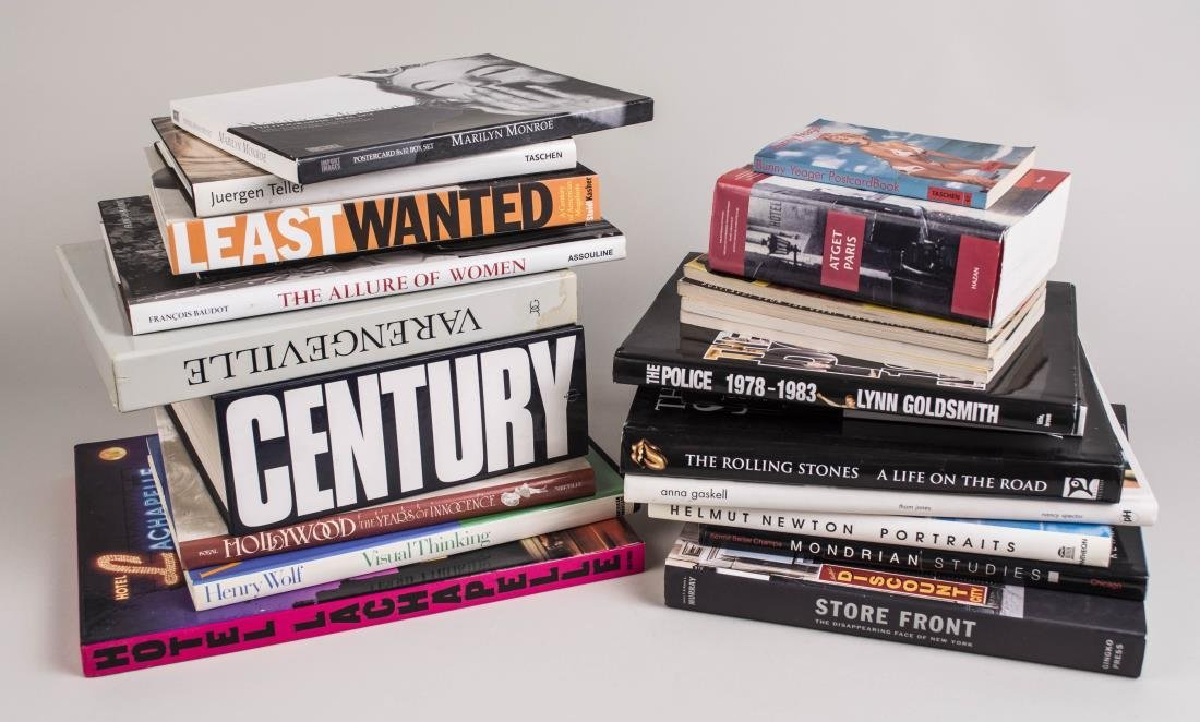 Group of Photography and Art Books
