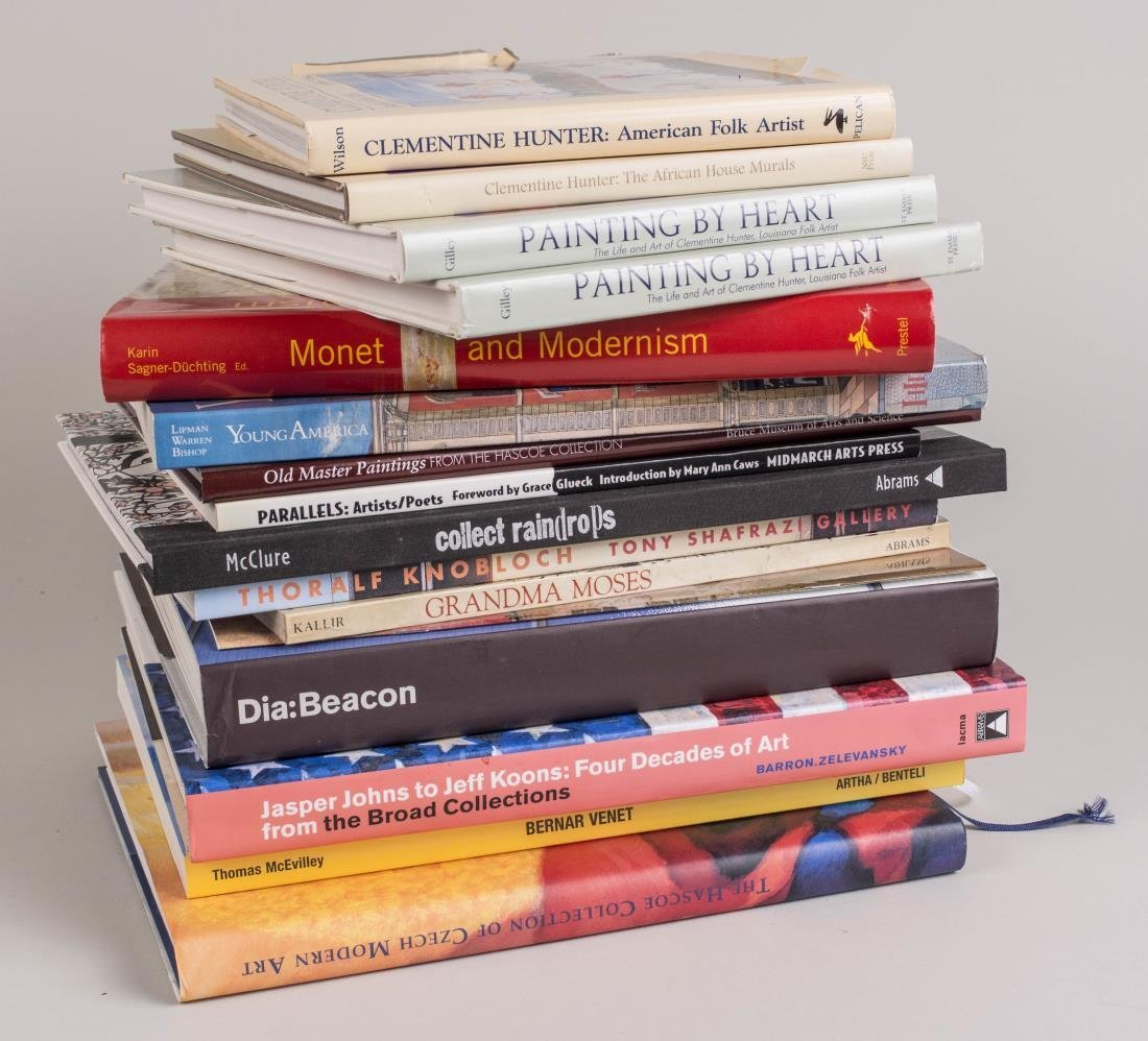 Miscellaneous Group of Art Books