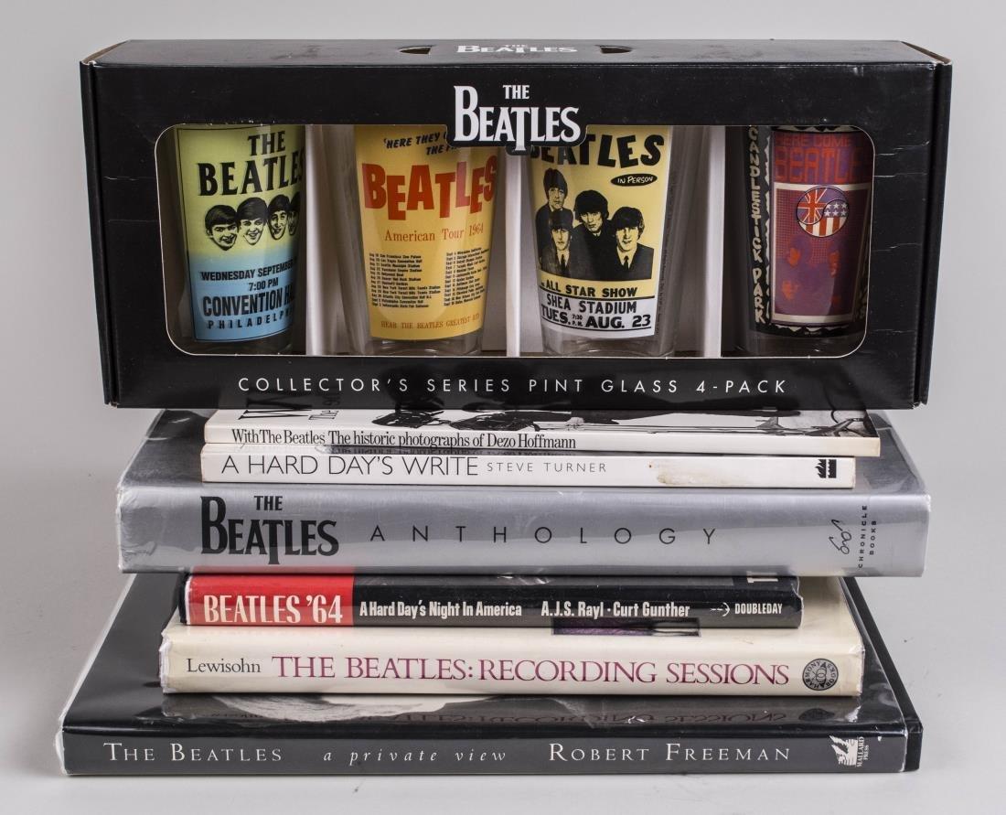 Group of Beatles Memorabilia