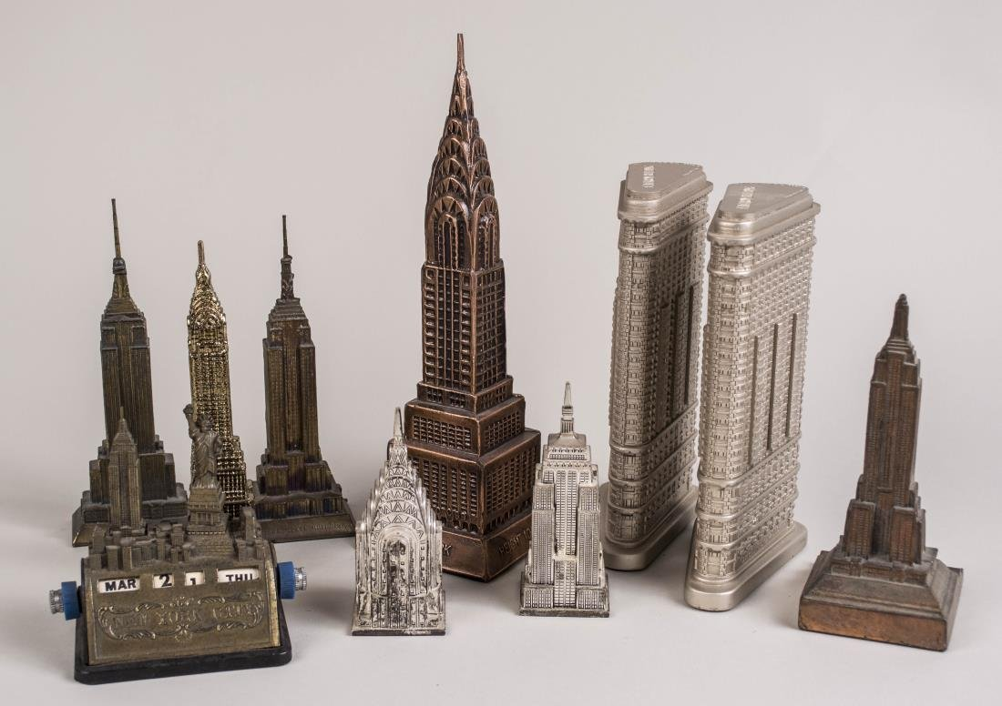 Group of Miniature Skyscrapers