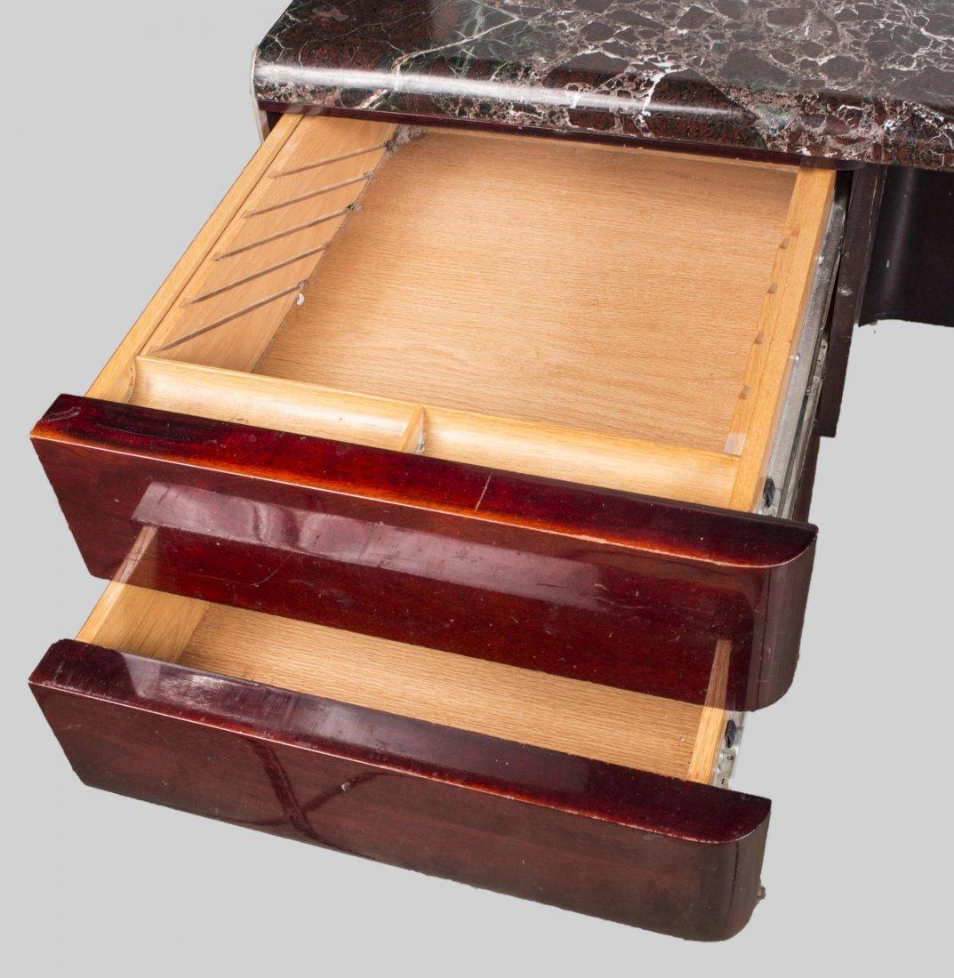 Vladimir Kagan Marble Top Desk - 5