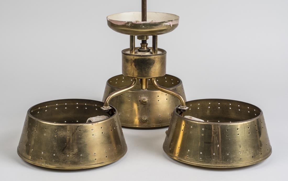 Tommi Parzinger Brass Chandelier