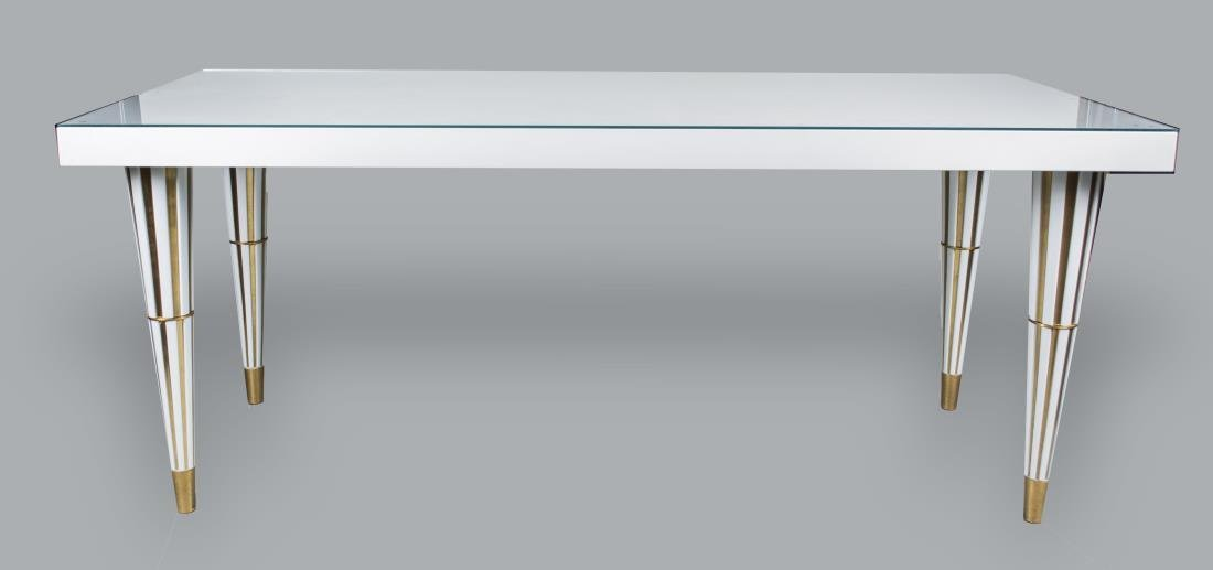 White Lacquer Top Table
