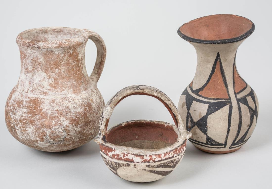 Three Pottery Articles