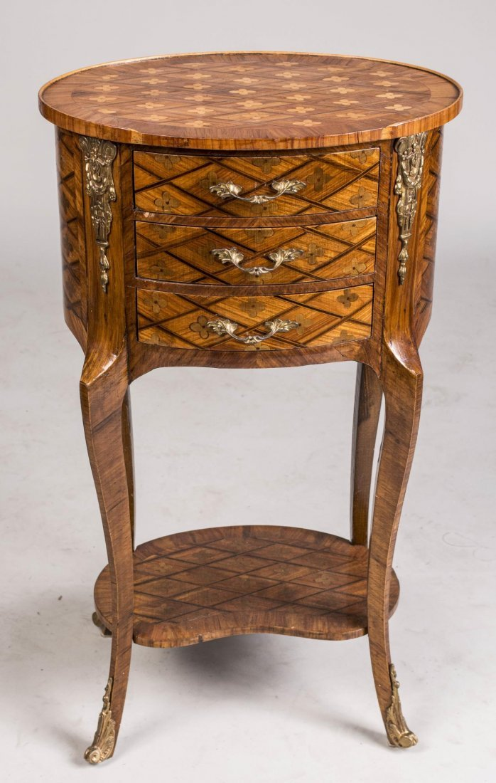 French Louis XV / XVI Transitional Style Stand