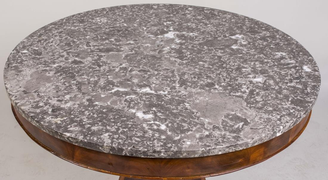 Empire Marble Top Center Table - 2