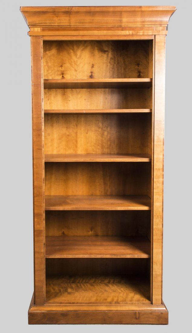 Fruitwood Open Bookcase