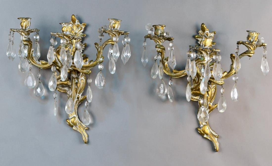 Pair of Louis XV Style Sconces