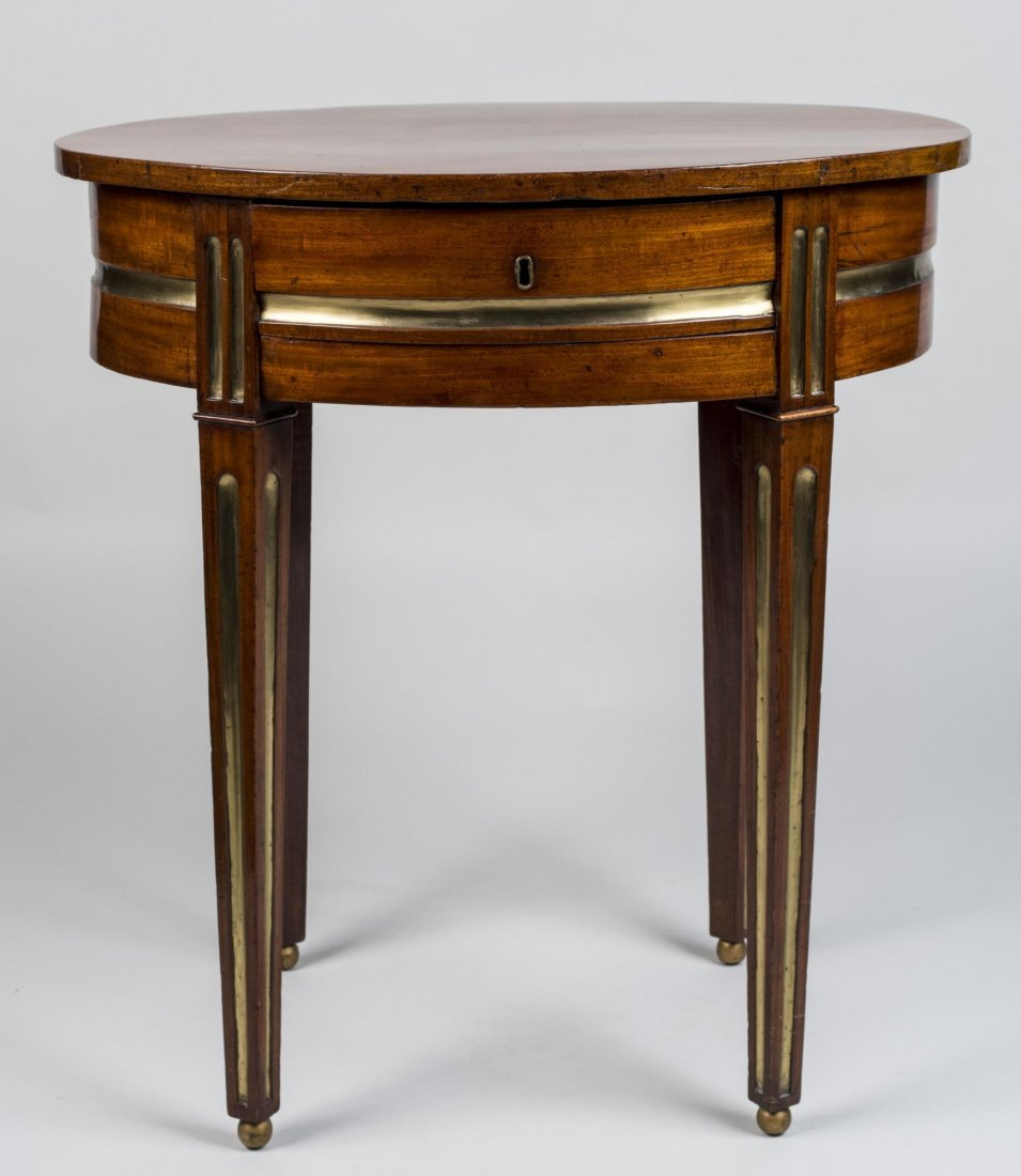 Russian Parcel Gilt Mahogany Occasional Table