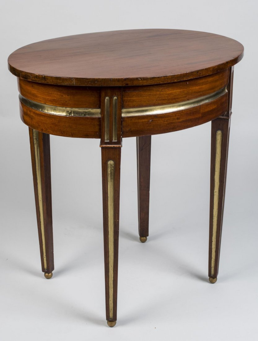 Russian Parcel Gilt Mahogany Occasional Table - 4