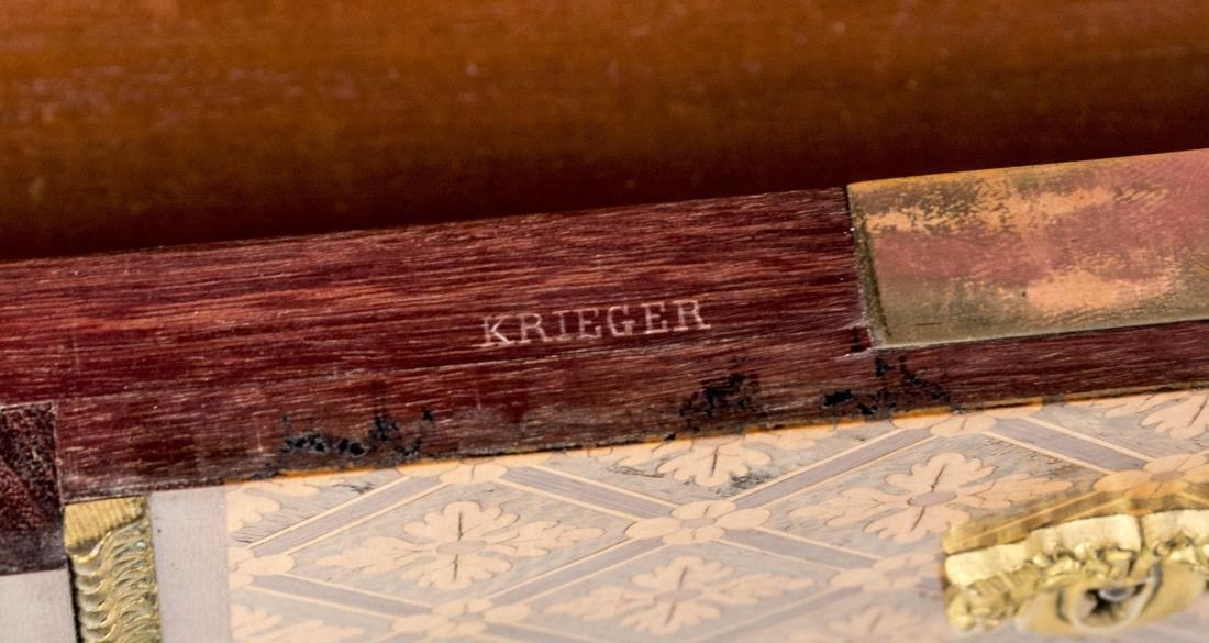 Antoine Krieger (1804-1869) Petite Escritoire - 3