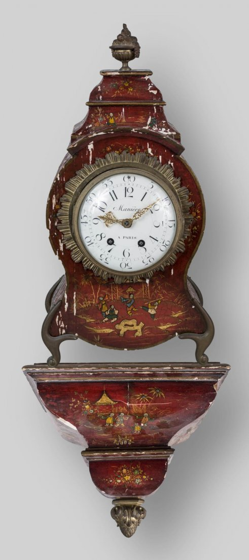 Louis XV Style Bracket Clock