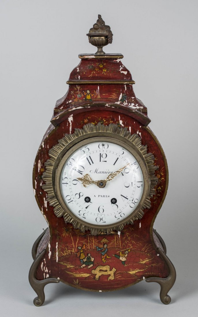 Louis XV Style Bracket Clock - 2