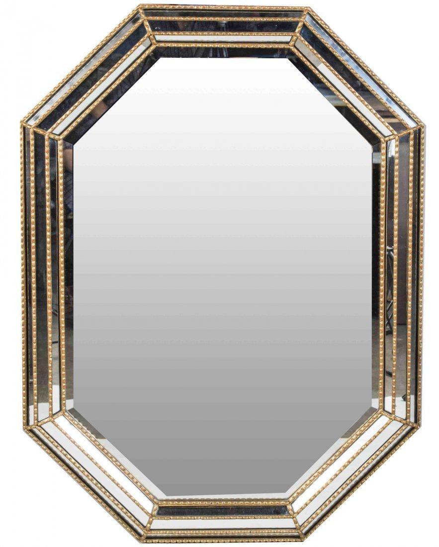Octagonal Mirror Framed Mirror