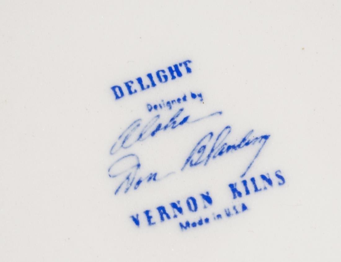 Don Blanding for Vernon Kilns Coffee and Tea Set - 2
