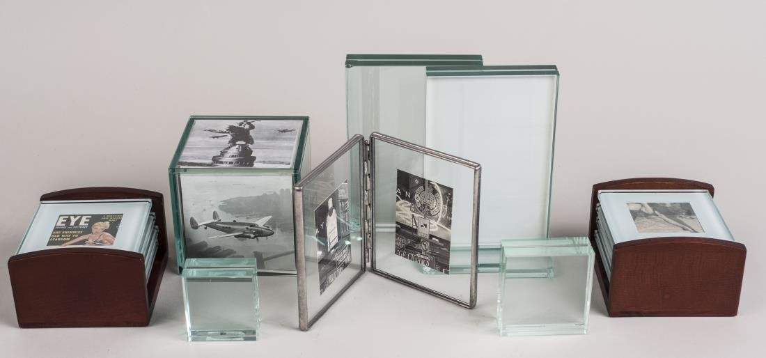 Group of Glass Picture Frames
