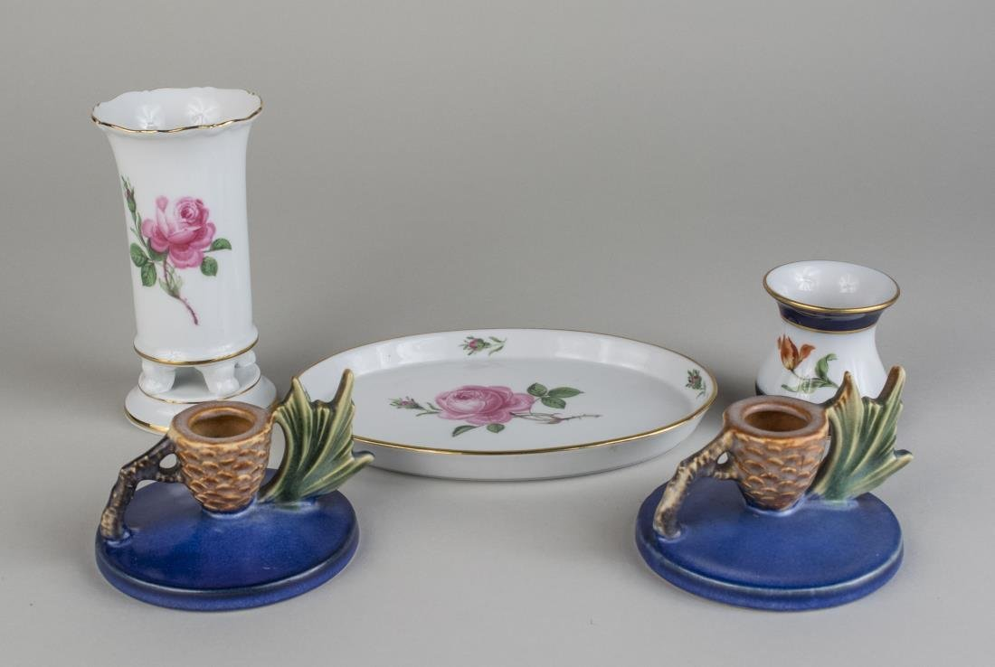 Group of Ceramic Table Decorations