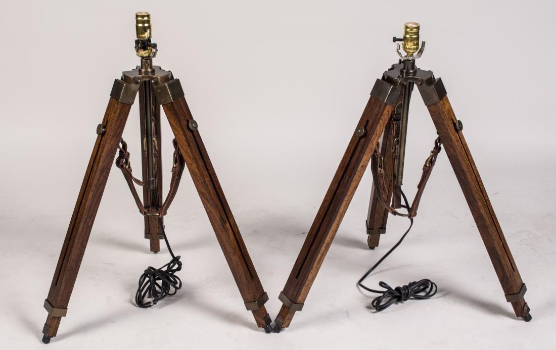 Two Tripod Lamps