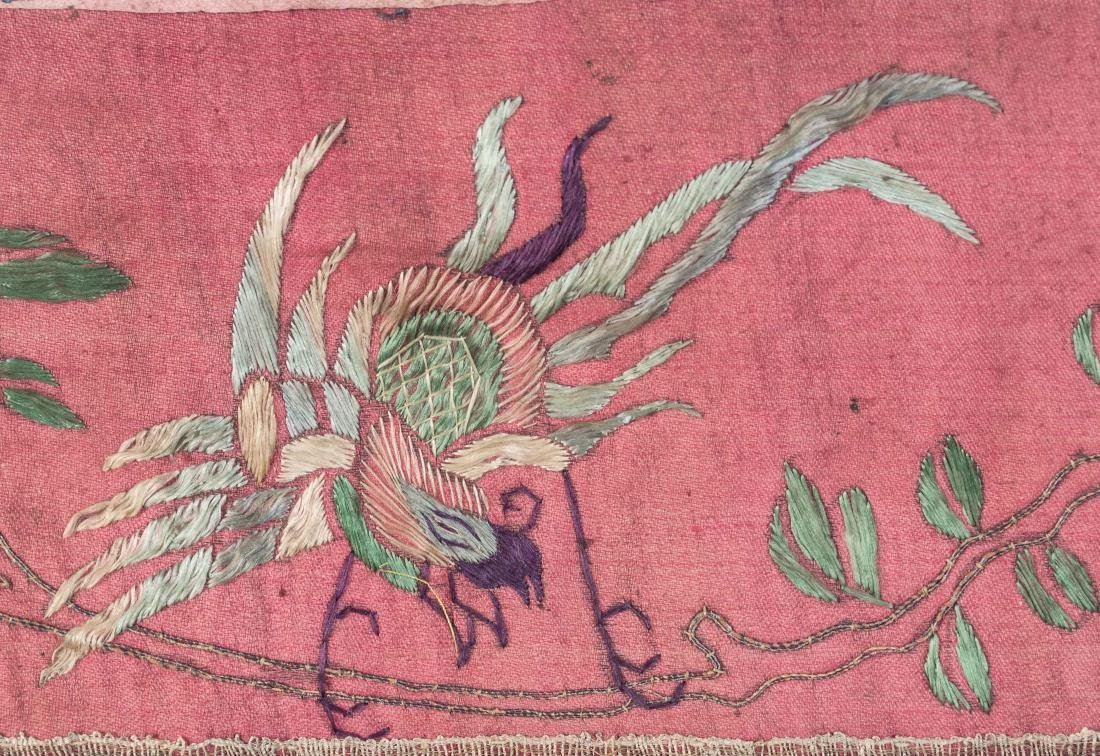 Chinese Embroidered Panel - 2