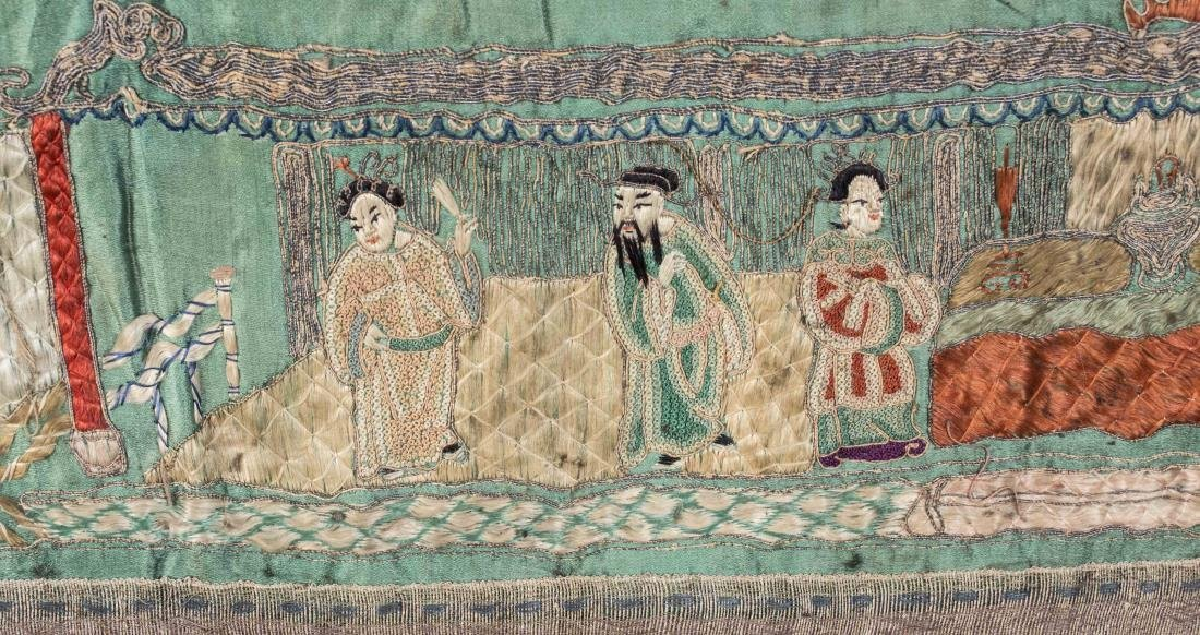 Chinese Embroidered Panel - 3