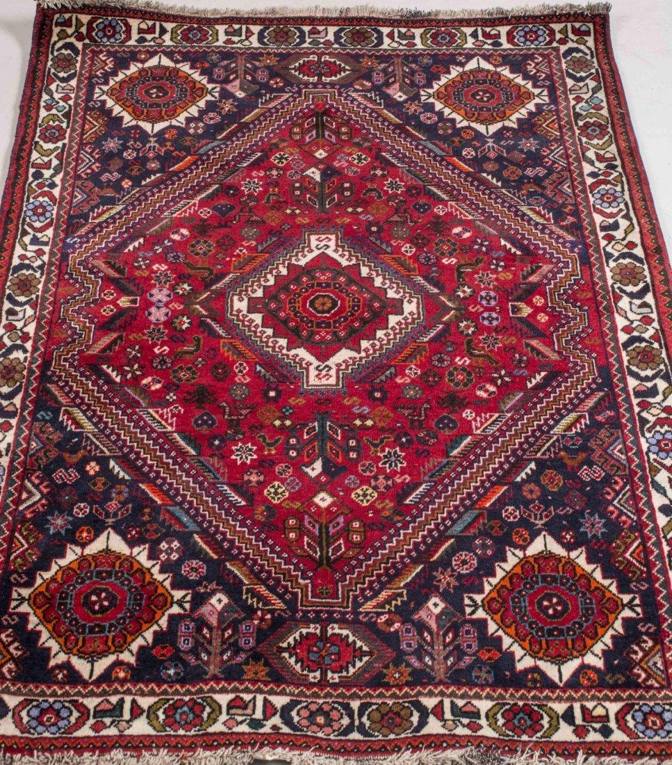 Iranian Q'Ashqa'i Carpet