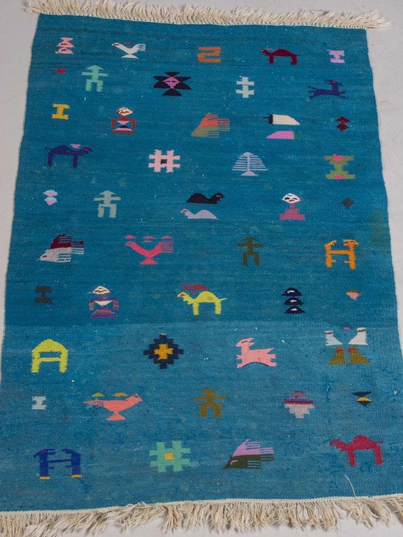 Modern Turkish Kilim Carpet