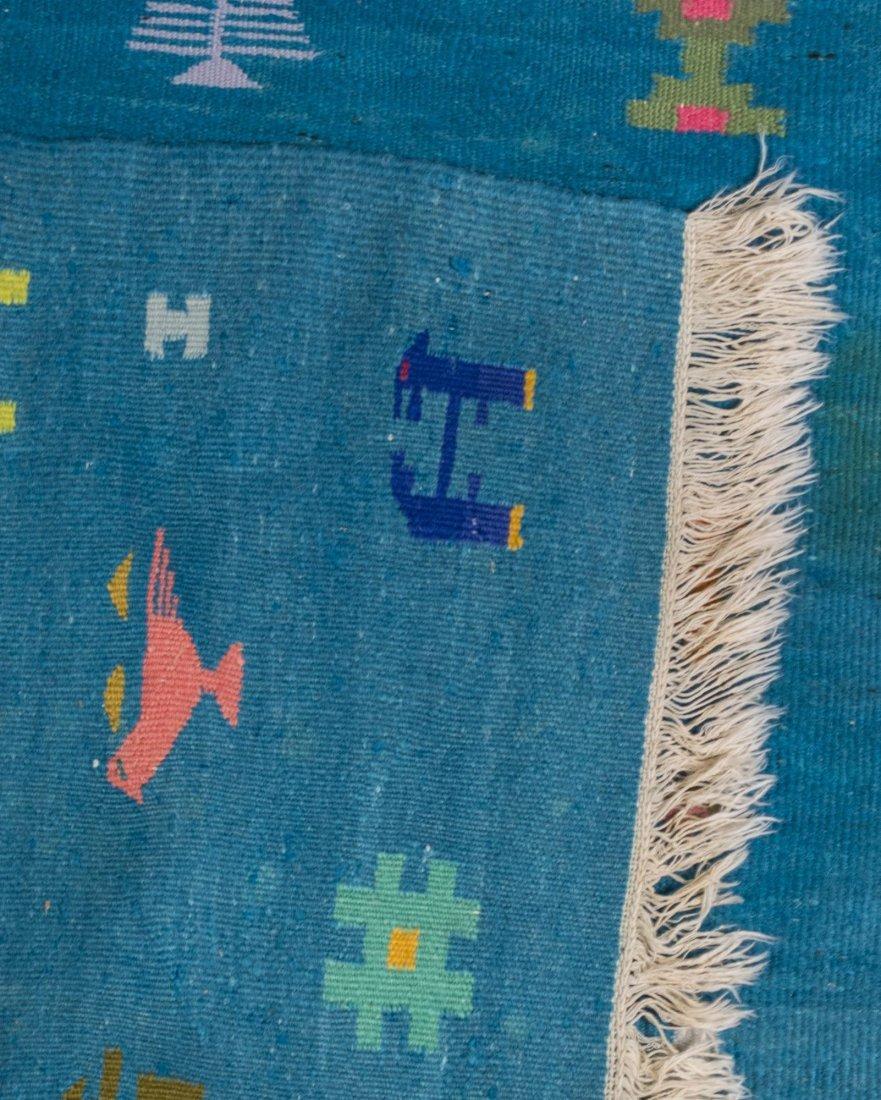 Modern Turkish Kilim Carpet - 2