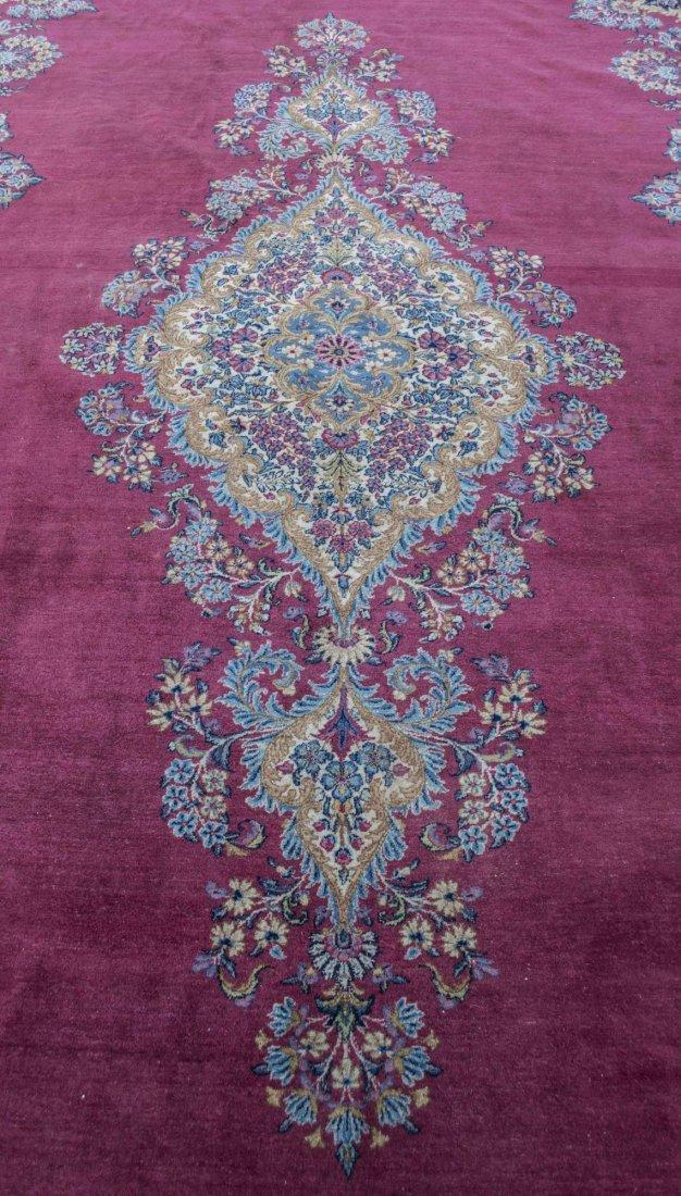 Persian / Iranian Kerman Carpet - 2