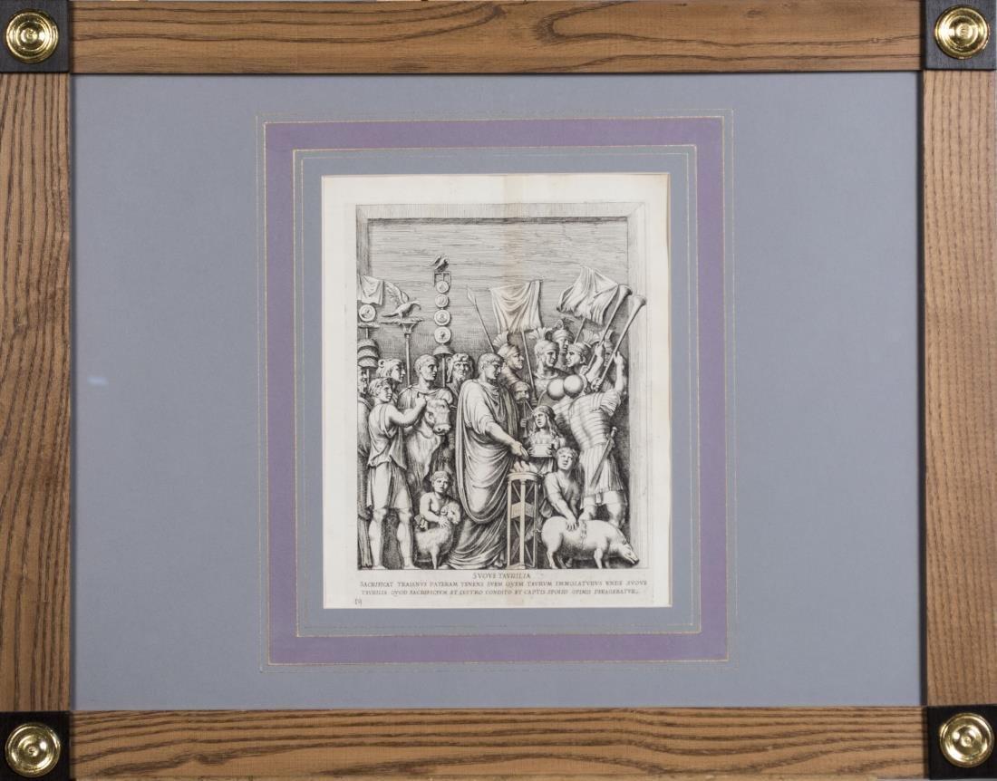 Four Vintage Neoclassical Engravings - 2