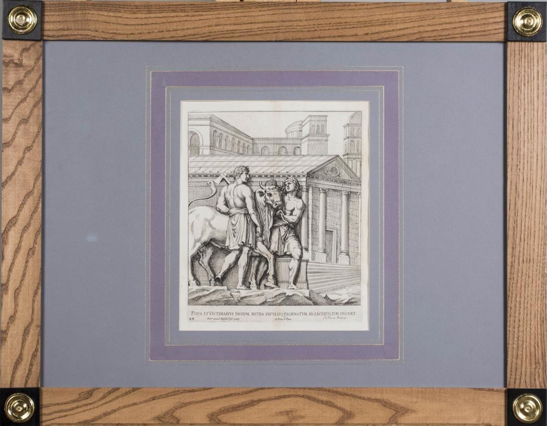 Four Vintage Neoclassical Engravings - 3