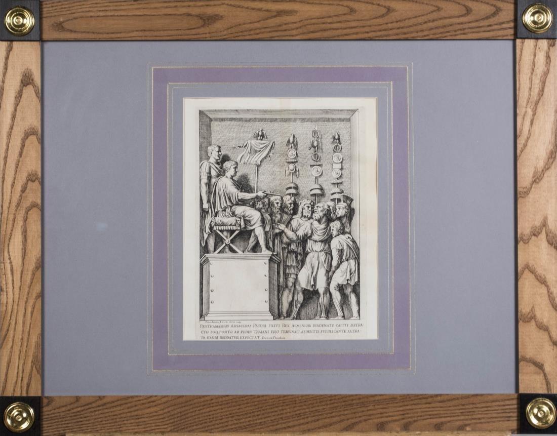 Four Vintage Neoclassical Engravings - 5