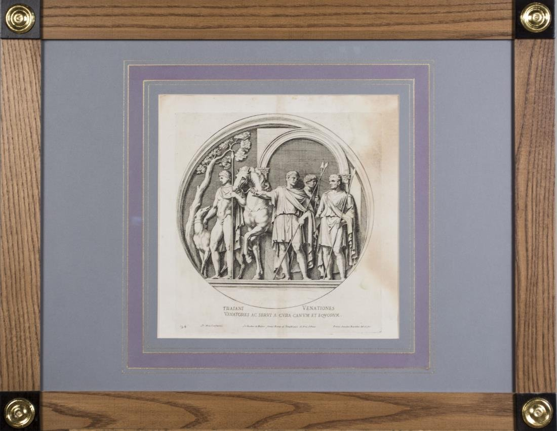 Four Vintage Neoclassical Engravings - 2