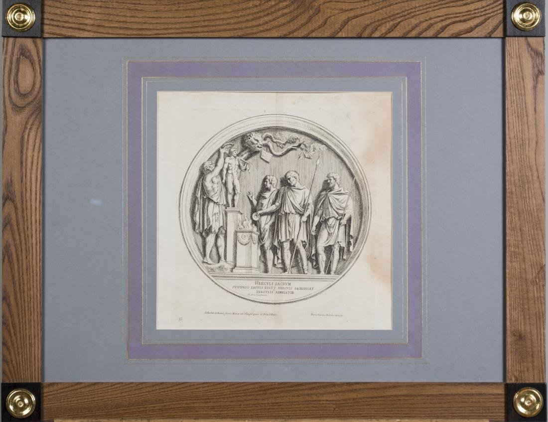 Four Vintage Neoclassical Engravings - 3