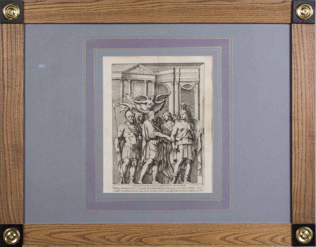 Six Vintage Neoclassical Engravings - 2