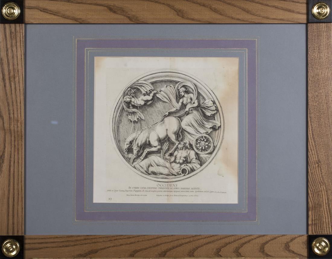 Six Vintage Neoclassical Engravings - 3