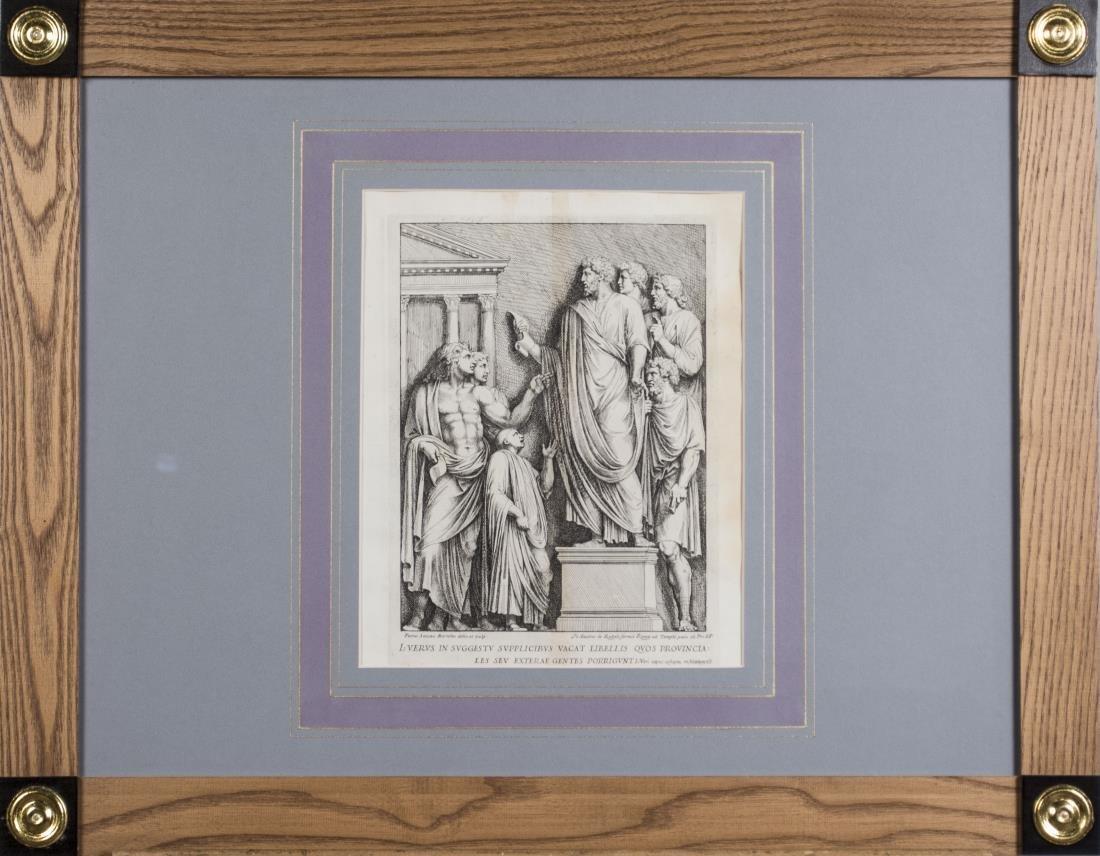 Six Vintage Neoclassical Engravings - 4